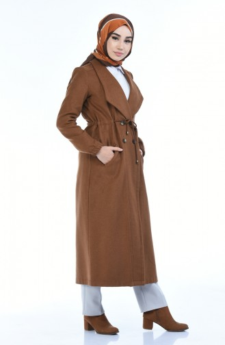 5494-03 معطف طويل نحاسي 5494-03