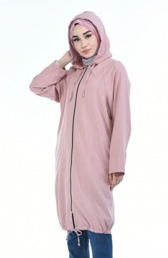 women´s Hooded Cap pink 2086-03