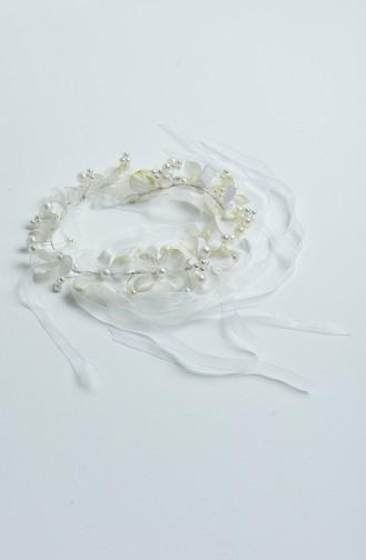 Ecru Bridal Hair Accessories 13