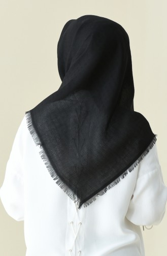 Black Scarf 13106-08