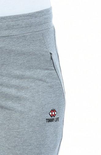 Jogginghose mit Tasche 94148-01 Grau 94148-01