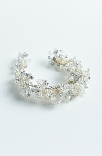 Cream Bridal Hair Accessories 6