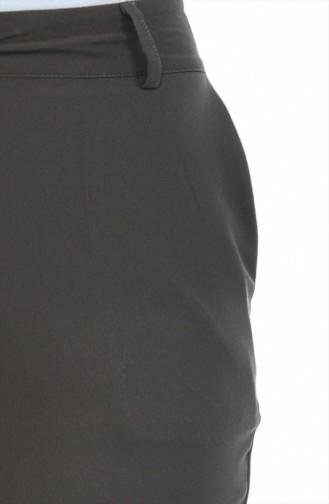 Geradehose mit Tasche 5176-01 Khaki 5176-01