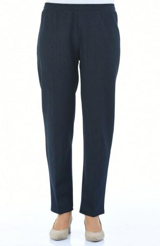 Navy Blue Pants 2105A-01