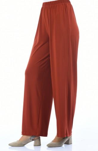 Beli Lastikli Sandy Pantolon 2200-03 Kiremit
