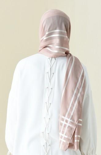 Abendkleid Chiffon Schal 13100-07 Hell Puder Rosa 13100-07