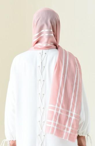 Abendkleid Chiffon Schal 13100-17 Dunkel Puder 13100-17