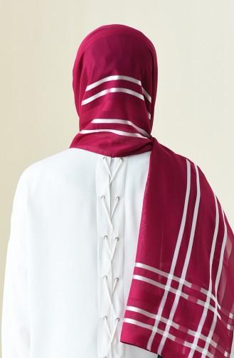 Abiye Flosh Chiffon Shawl fuchsia 13100-20