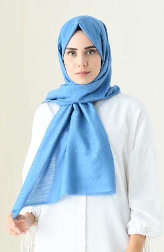 شال أزرق 90590-10