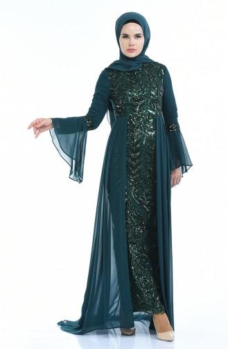 Emerald İslamitische Avondjurk 8014-04