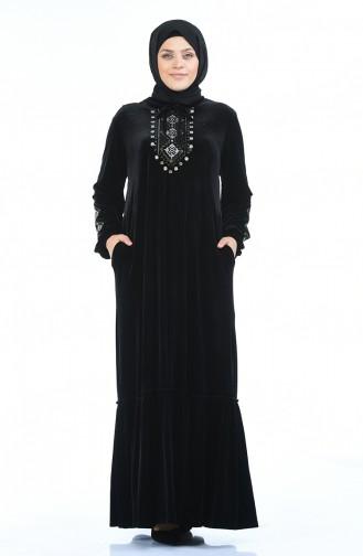 فستان أسود 7968-06
