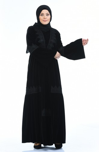 فستان أسود 7986-01