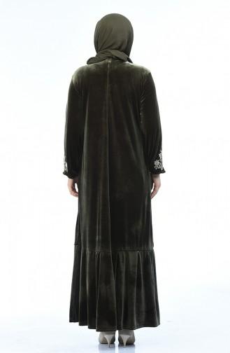 Khaki Dress 7987-02