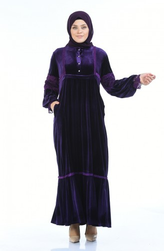 Purple İslamitische Jurk 7988-04