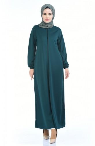 Emerald Abaya 6666A-01
