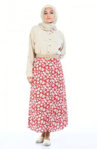 Red Skirt 5319D-01