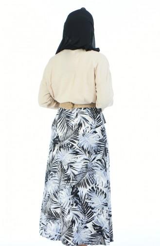 Gray Skirt 5319E-01