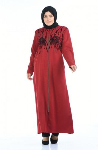 Red Abaya 7992-04