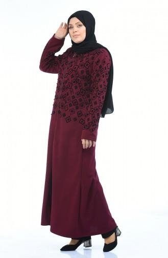 Damson Abaya 7994-03
