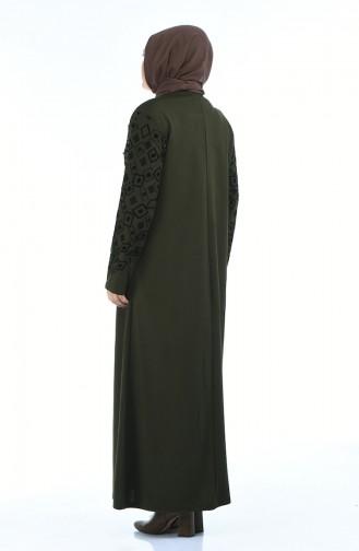 Khaki Abayas 7994-04