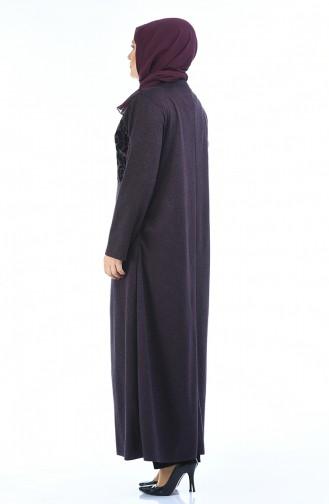Purple Abaya 7999-01