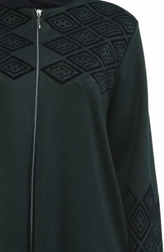Smaragdgrün Abayas 8000-06