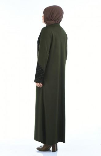 Khaki Abaya 8001-04