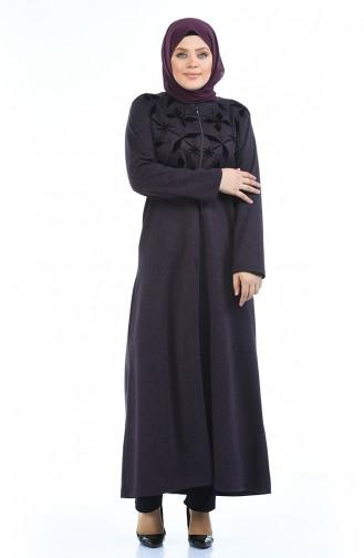 Purple Abaya 8002-01