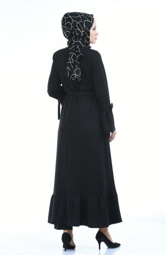 Black Abaya 8211-01