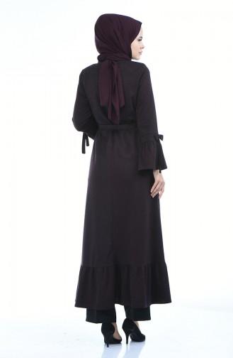 Dark Damsons Abaya 8211-04