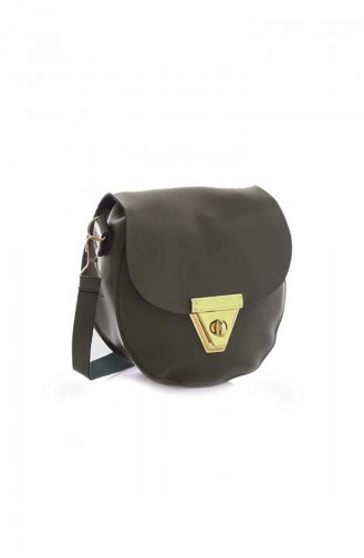 Khaki Shoulder Bag 09Z-12