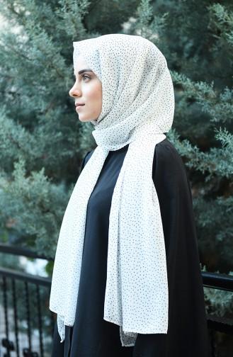 White Sjaal 1006-01