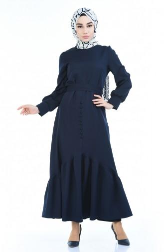 Navy Blue Dress 2694-01