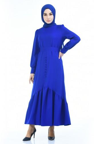 Saxon blue Dress 2694-03