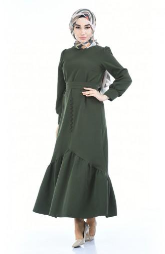 Khaki Dress 2694-08