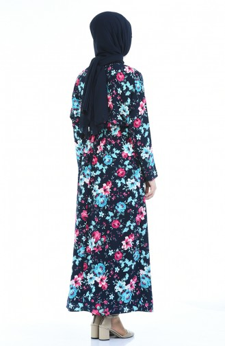 Navy Blue Dress 2060-04