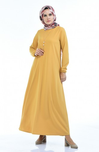 Mustard Dress 5256-06