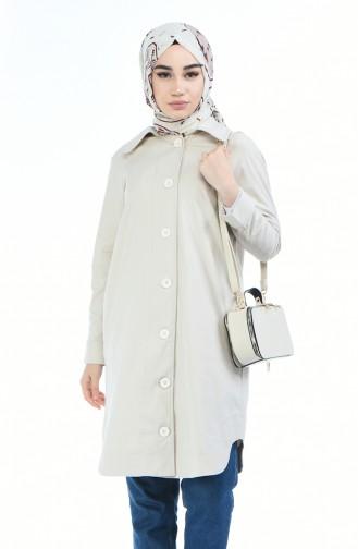 Beige Trench Coats Models 3610-01