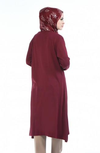 Claret red Tuniek 7895C-03