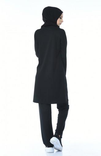 Black Tracksuit 9064-01
