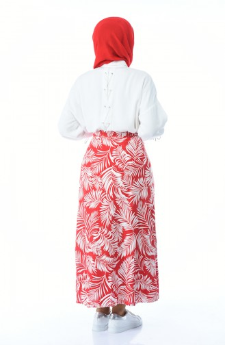 Red Skirt 5319A-01
