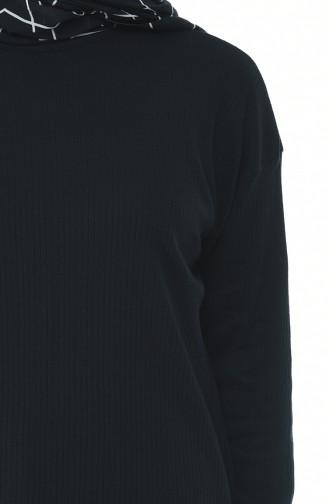 Tunique Tricot 4410-01 Noir 4410-01