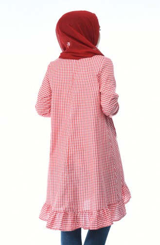 Red decorated tunic 1288-05