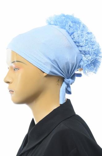 Babyblau Bonnet 7001-02