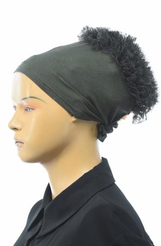 Bonnet a Froufrous 7001-04 Khaki 7001-04