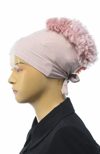 Bonnet a Froufrous 7001-05 Poudre 7001-05