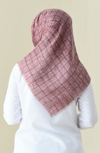 Patterned Season Scarf Rose color 2356-11