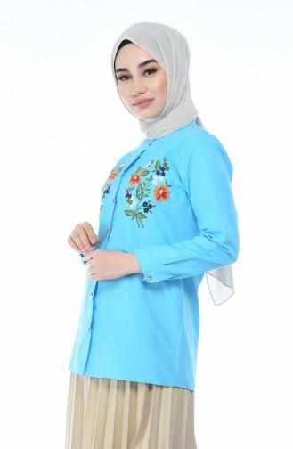 Turquoise Shirt 1014-01