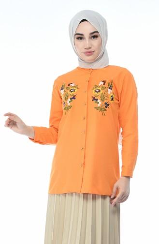 قميص مشمشي 1014-08
