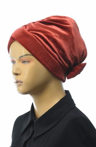 Ziegelrot Bonnet 0025-21